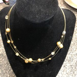 Lia Sophia floating necklaces two necklaces